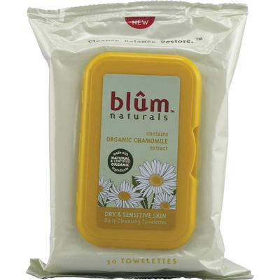 Blum Naturals Dry/Sensitive Towelette (3x30 ct)