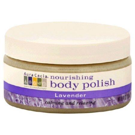 Aura Cacia Lavender Body Polish (1x8 Oz)