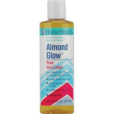 Home Health Almond Glow Lotion Rose (1x8 Oz)