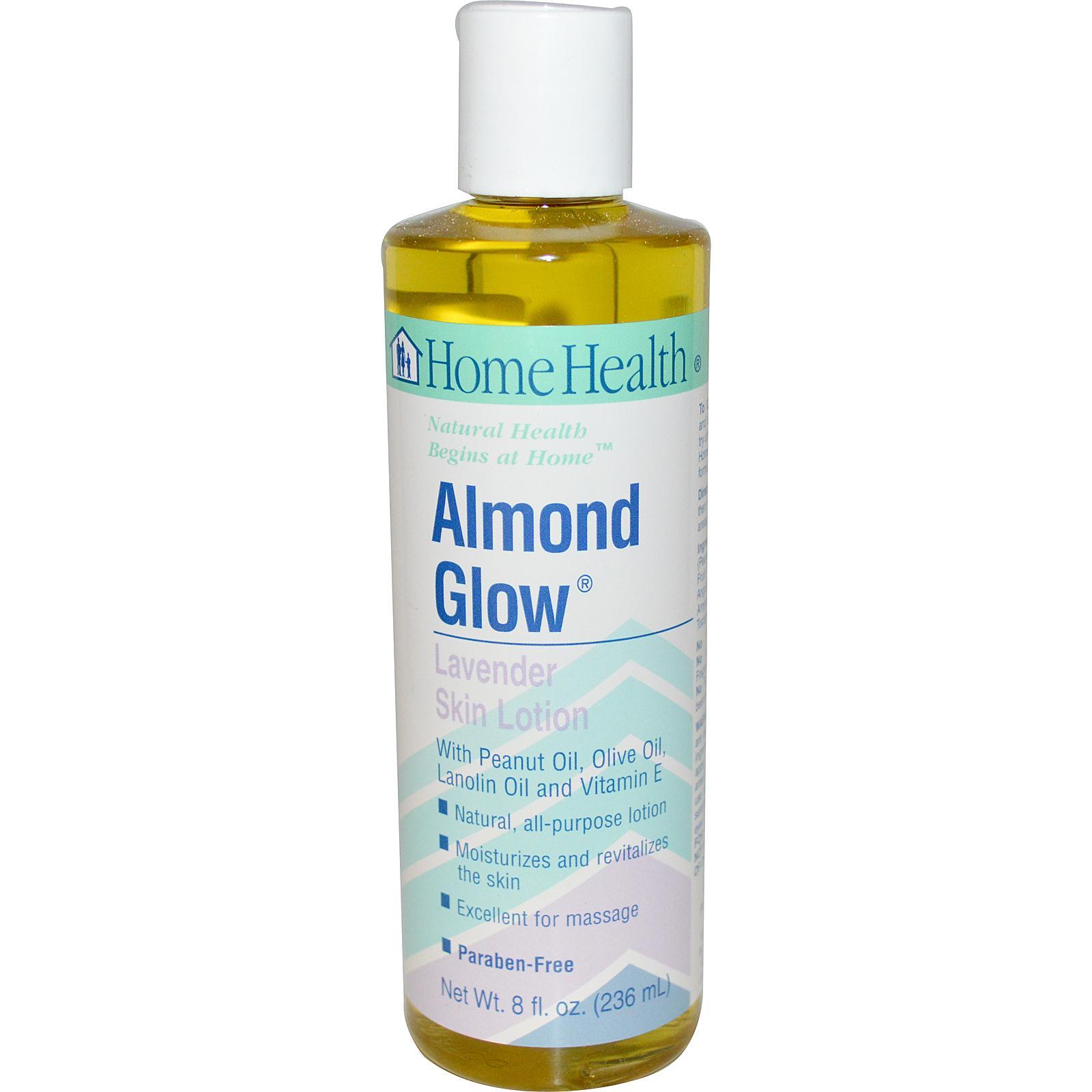 Home Health Almond Glow Lotion Lavender (1x8 Oz)