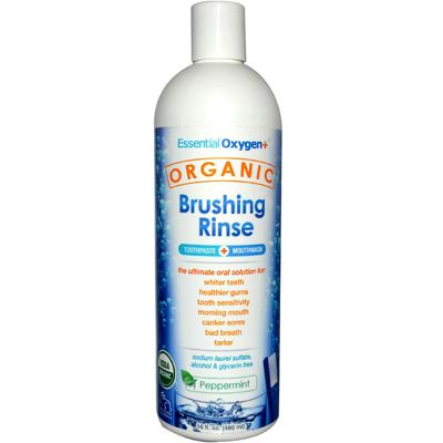 Essential Oxygen Peppermint Brushing Rinse (1x16 Oz)