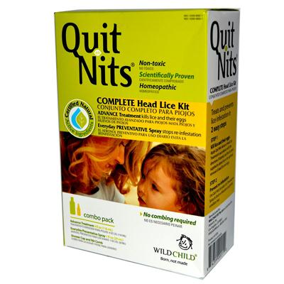 Hyland's Homeopathic Wild Child Quit Nits Head Lice Kit (1xct)