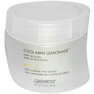 Giovanni Cool Mint Lemon Salt Scrub (1x9 Oz)