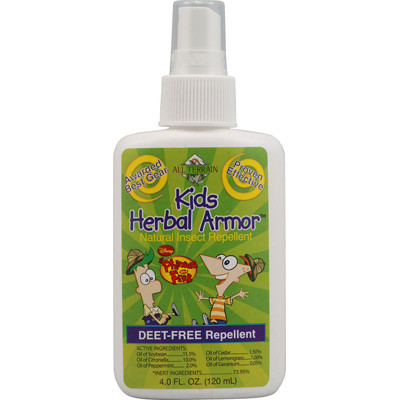 All Terrain Phineas & Ferb Kids Herbal Armor Insect Repellent (1x4 Oz)