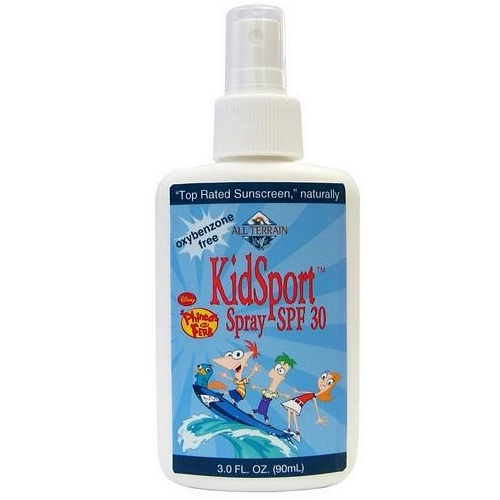 All Terrain Phineas & Ferb KidSport SPF30 Spray (1x3 Oz)