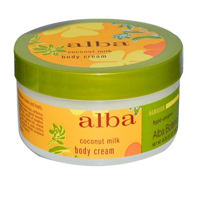 Alba Botanica Coconut Milk Body Cream (1x6.5 Oz)
