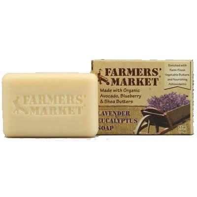 Farmer's Market Lavendar/ Eucalyptus Bar Soap (1x5.5 Oz)
