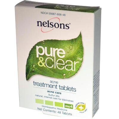 Nelsons Pure & Clear Acne Treatment Ta (1x48 TAB)