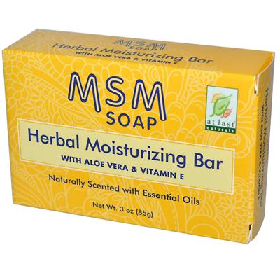 At Last Naturals Msm Herbal Bar (1x3 Oz)