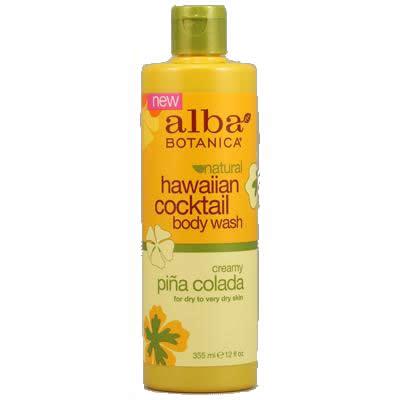 Alba Botanica Creamy Pina Colada Cocktail Body Wash (1x12 Oz)
