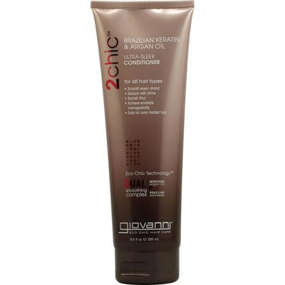 Giovanni 2chic Ultra-Sleek Conditioner Brazilian Keratin & Argan Oil (1x8.5 Oz)