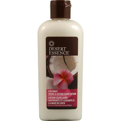 Desert Essence Coconut Shine & Refine Hair Lotion (1x6.4 Oz)