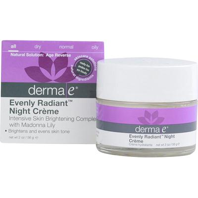 Derma E Evenly Radiant Night Creme (1x2 Oz)