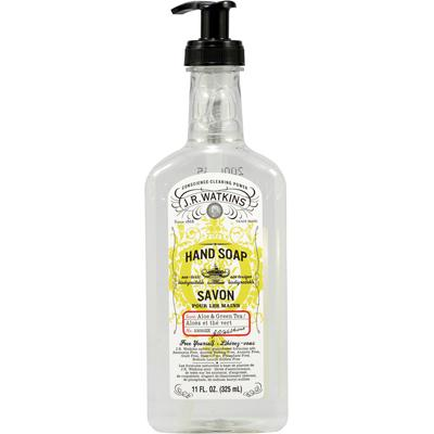 J.R. Watkins Aloe with Green Tea Liquid Hand Soap (6x11 Oz)