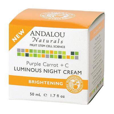Andalou Naturals Purple Carrot +C Luminous Night Cream (1x1.7 Oz)