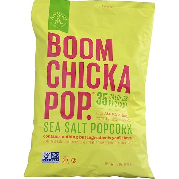 Angies Boomchickapop SeaSalt (8x5OZ )