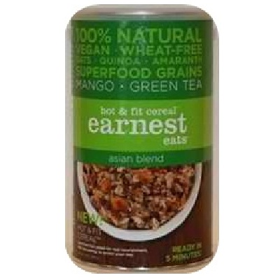 Earnest Eats Hot Cereal Asian Blend (6x14OZ )