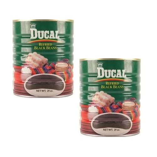 Ducal Red Refried Beans (12x29OZ )