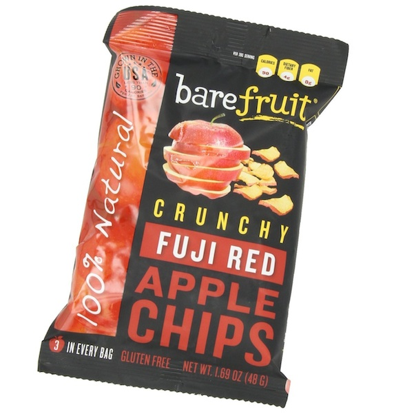 Bare Fruit Fuji Apple Chips (10x48GRAM)