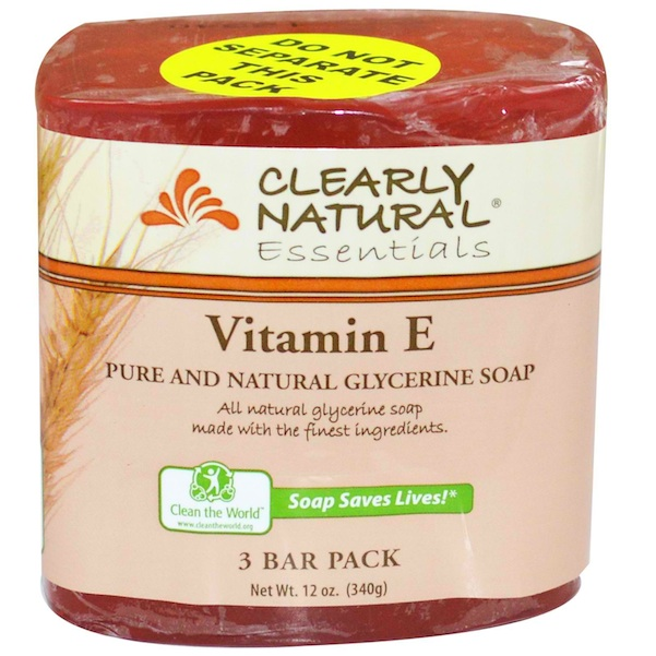Clearly Natural Gly Sp Vitamin E 3Pk (8x3Pack )