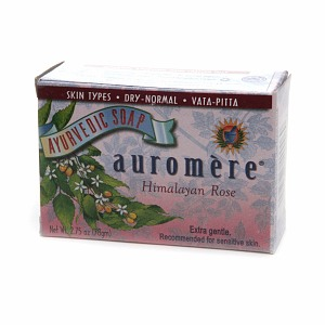 Auromere Himalayn Rose Soap (1x2.75OZ )