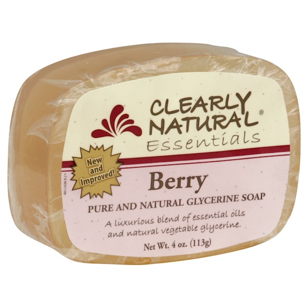 Clearly Natural Gly Soap Berry (1x4OZ )