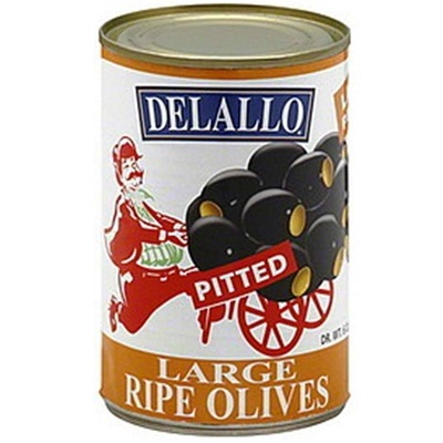 De Lallo Pitted Olive Lrg (24x6OZ )