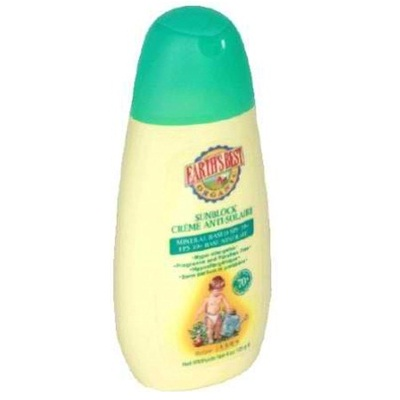 Earths Best Baby Care Sun Block Spf 30+ (1x4OZ )