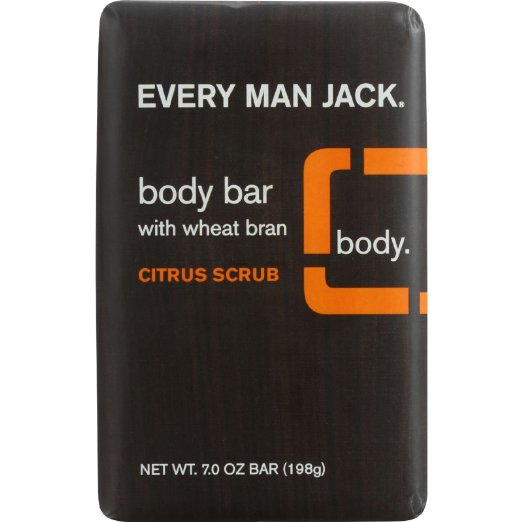 Every Man Jack Citrus Scrub Body Bar (1x7Oz)
