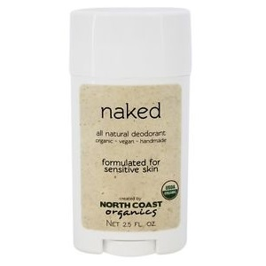 North Coast Organics Deodorant Sensitive Naked (1x2.5Oz)