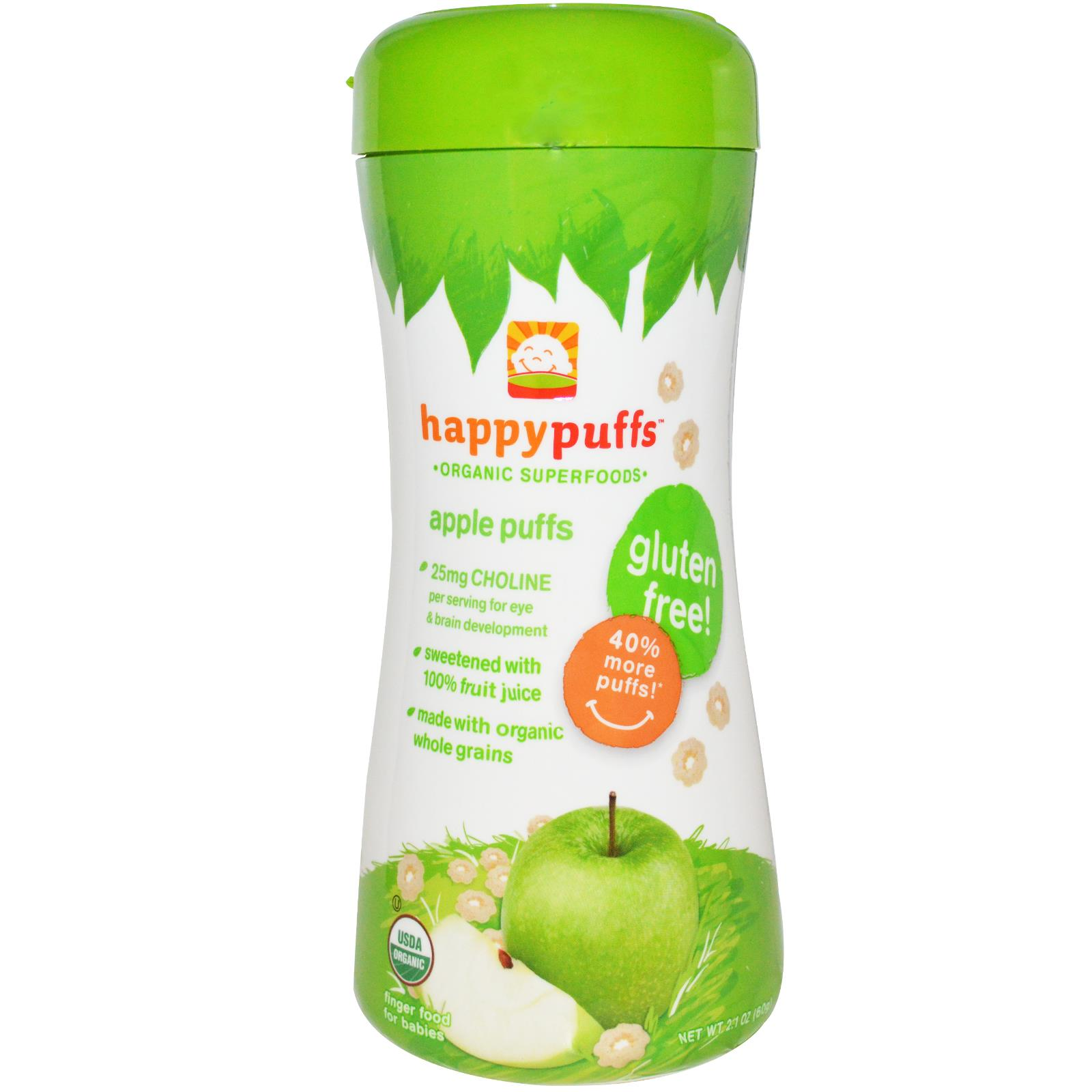Happy Puffs Apple Puffs (6x2.1OZ )