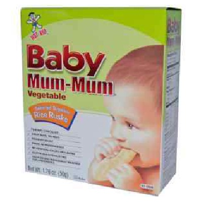 Hot Kid Baby Mummum Veg (6x1.76OZ )