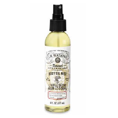 J R Watkins Coconut/Honey Body Oil Mist (1x6OZ )