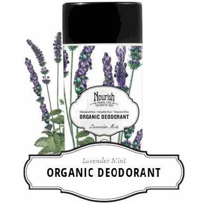 Nourish Deodorant Lvndr Mint (1x2.2OZ )