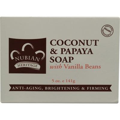 Nubian Heritage Coconut Papaya Soap (1x5OZ )