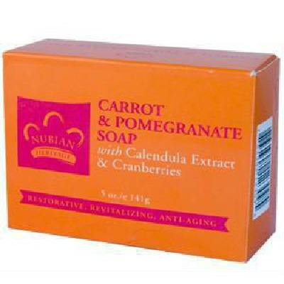 Nubian Heritage Carrot & Pomegranate (1x5OZ )