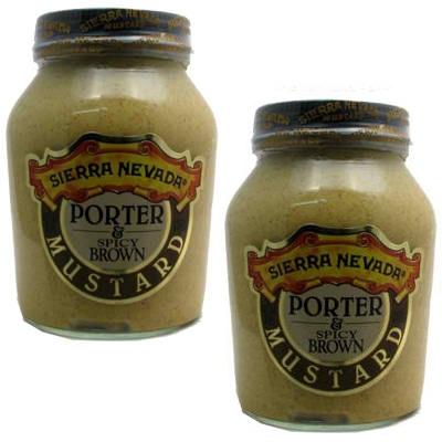 Sierra Nevada Specialty Food Mustard Porter/Spicy (6x8OZ ) [BG18117 ...