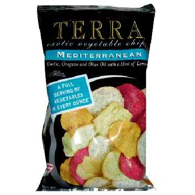 Terra Chips Medit Veg Chips (12x6.8OZ )