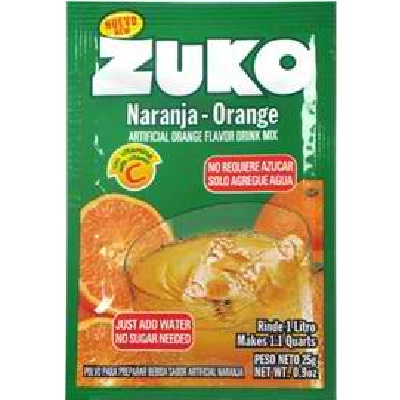 Zuko Orange Drink Mix (96x0.9OZ )