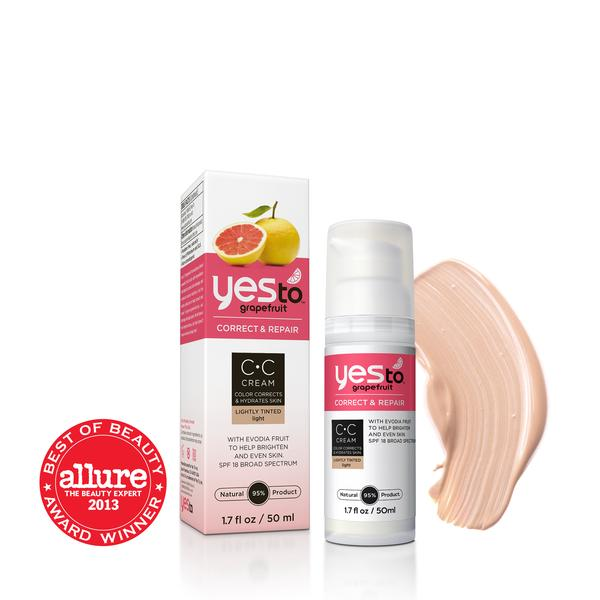 Yes To Grapefruit Color Correcting Cream SPF18 (1.7 OZ)