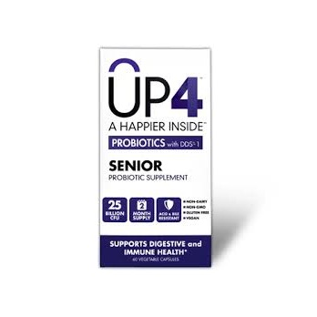 Up4 Probiotics Senior Probiotic WxDDS-1 (1x60 VCAP)