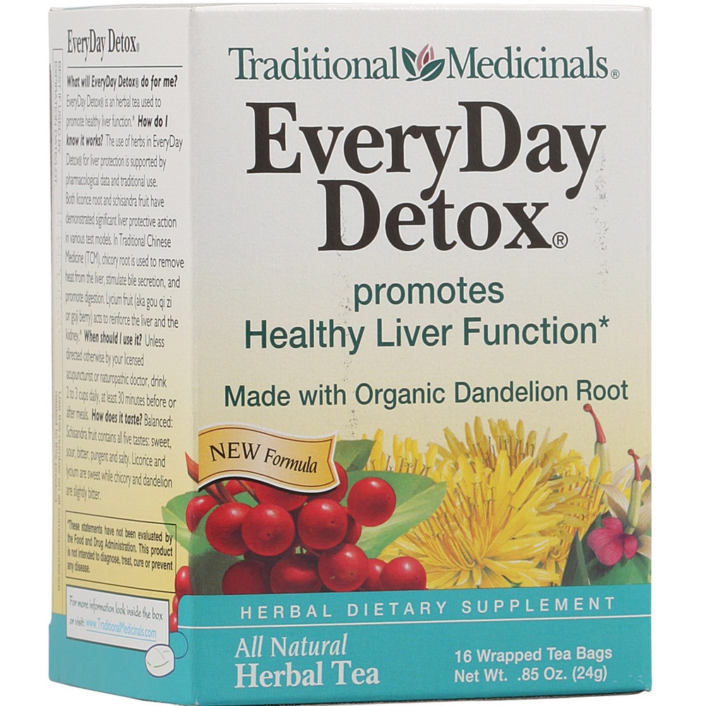Traditional Medicinals Everyday Detox, Dandelion (6x16 BAG)
