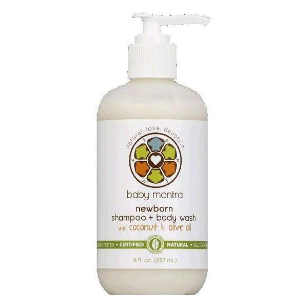 Baby Mantra Shampoo & Body Wash (1x8 OZ)