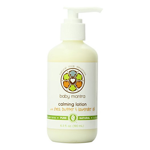 Baby Mantra Calming Lotion With Shea Butter & Lavender Oil (1x6.3 OZ)