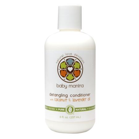 Baby Mantra Detangling Conditioner with Coconut & Lavender Oil (1x8 OZ)