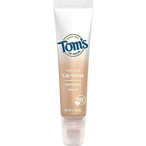 Tom's of Maine Lip Gloss Summer Sand (12x0.5 OZ)