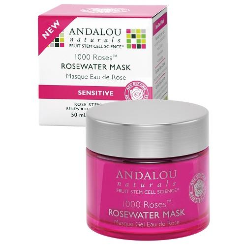 Andalou Naturals 1000 Roses Rosewater Gel Mask  (1x1.7 OZ)