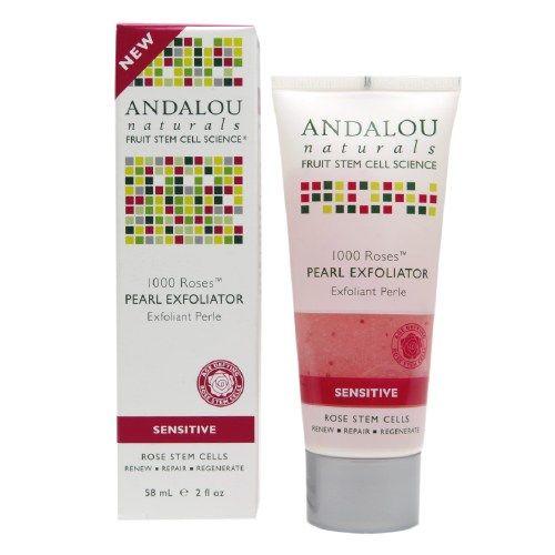 Andalou Naturals 1000 Roses Pearl Exfoliator (1x2 OZ)