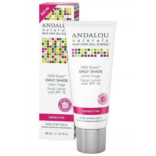 Andalou Naturals 1000 Roses Facial Lotion SPF 18 (1x2.7 OZ)