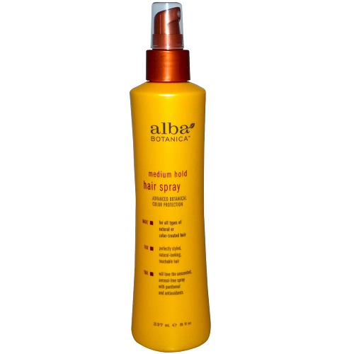 Alba Botanica Alba Medium Hold Hair Spray (1x8 OZ)